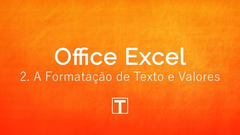 Formatação no Excel