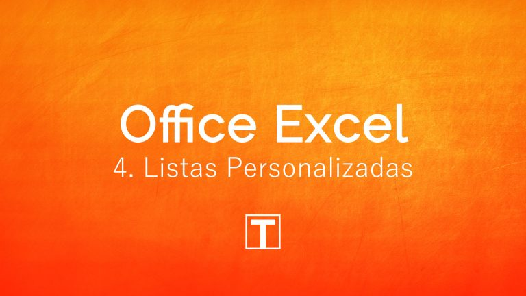 Listas Personalizadas no Excel