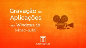 captura de vídeo windows 10