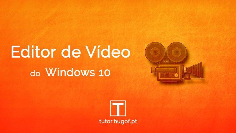 editor de video do windows 10