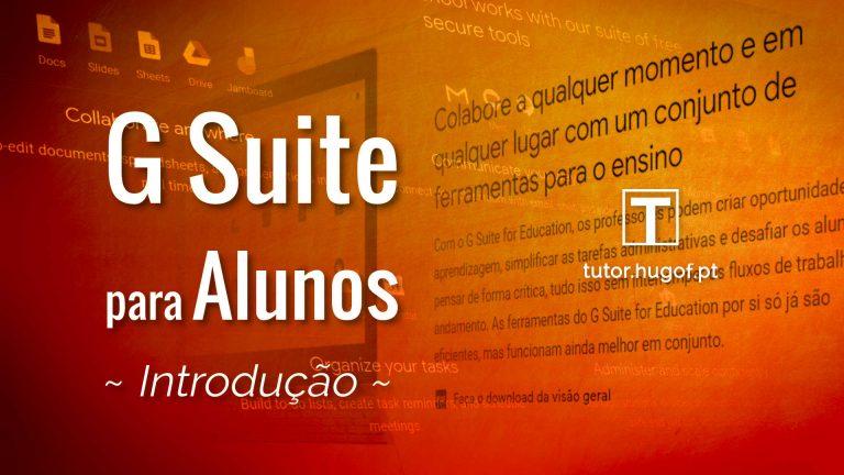 g suite para alunos